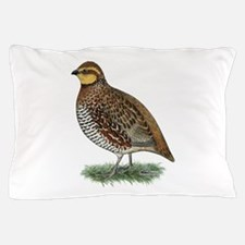Bobwhite Quail Hen Pillow Case