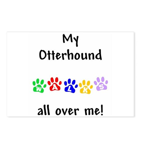 Otterhound Walks Postcards (Package of 8)
