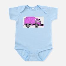 Unique Garbage truck Infant Bodysuit
