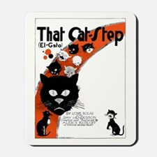 That Cat Step Mousepad