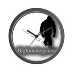 Trekking Bigfoot - Bigfootology.com Wall Clock