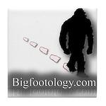 Trekking Bigfoot - Bigfootology.com Tile Coaster