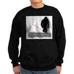 Trekking Bigfoot - Bigfootology.com Sweatshirt (da