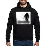 Trekking Bigfoot - Bigfootology.com Hoodie (dark)