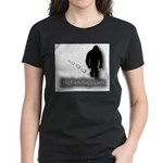 Trekking Bigfoot - Bigfootology.com Women's Dark T