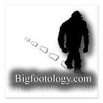 Trekking Bigfoot - Bigfootology.com Square Car Mag