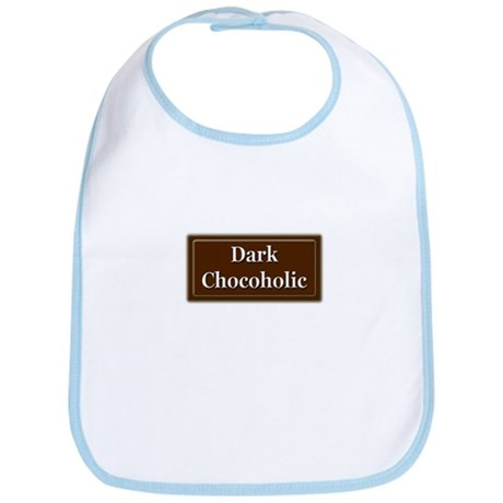 """""""Dark Chocoholic"""" Bib"""