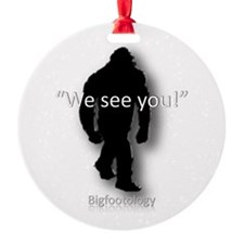 We see you! Round Ornament