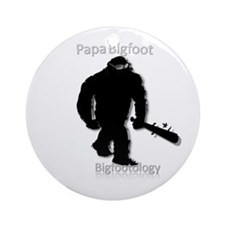 Papa Bigfoot Ornament (Round)