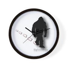 Trekking Bigfoot Wall Clock