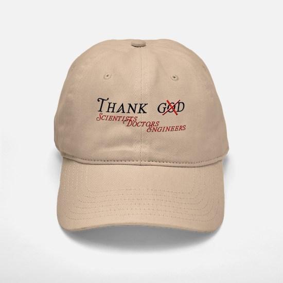 Thank Scientists Baseball Baseball Cap
