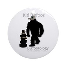 Kid Bigfoot Ornament (Round)