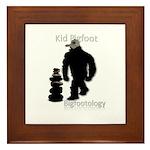 Kid Bigfoot Framed Tile