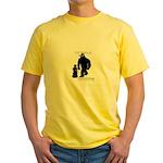 Kid Bigfoot Yellow T-Shirt