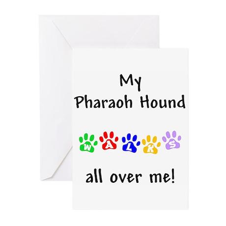 Pharaoh Hound Walks Greeting Cards (Pk of 10)