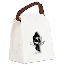 Happy Bigfooting Canvas Lunch Bag