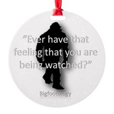 Ever have that feeling? Round Ornament