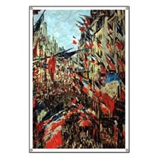 French Flags by Monet Banner