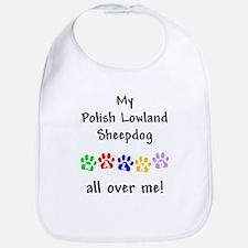 Polish Lowland Sheepdog Walks Bib