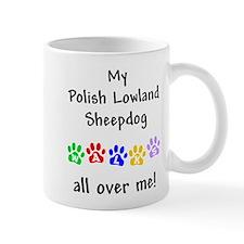 Polish Lowland Sheepdog Walks Mug