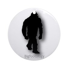 Bigfootology Icon Ornament (Round)