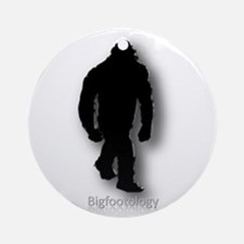Bigfootology Icon Ornament (Round)