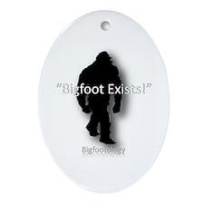 Bigfoot exists! Ornament (Oval)