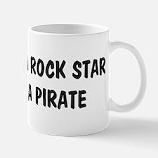 Rock Star Pirate Mug