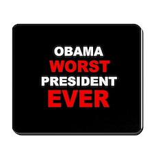 anti obama worst presdarkbumplLDK.png Mousepad
