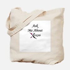 """""""Ask Me About Xocai"""" Tote Bag"""