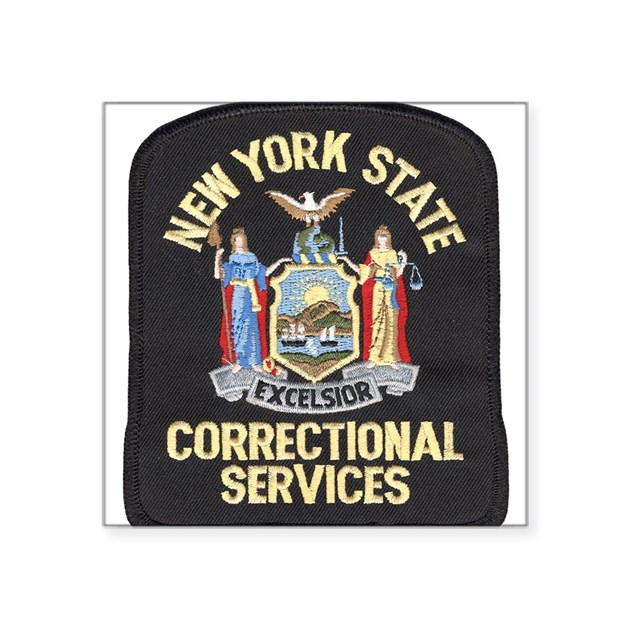 New york corrections rectangle sticker by admin cp3092135 - Stickers geant new york ...
