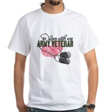 In Love with my Army Veteran T-Shirt