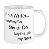 Writer Small Mugs (11 oz)