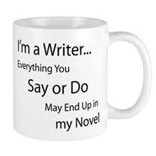 In My Novel Small Mug