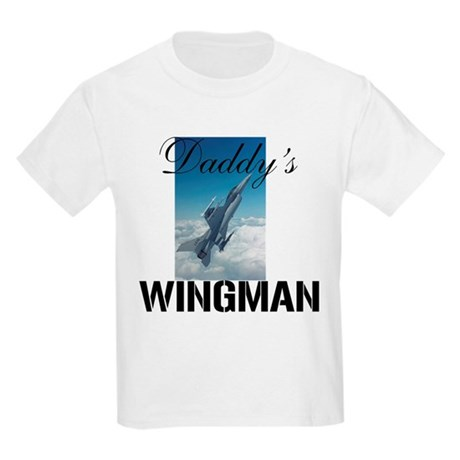 Daddys Wingman Kids Light T-Shirt