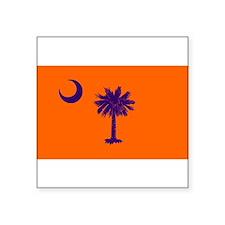 South Carolina Flag Rectangle Sticker