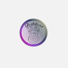 Goddess image Mini Button