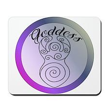 Goddess image Mousepad
