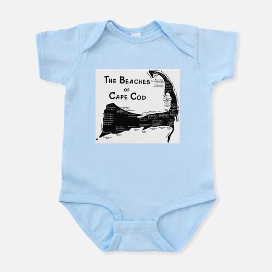 EVERY BEACH ON THE CAPE Infant Bodysuit