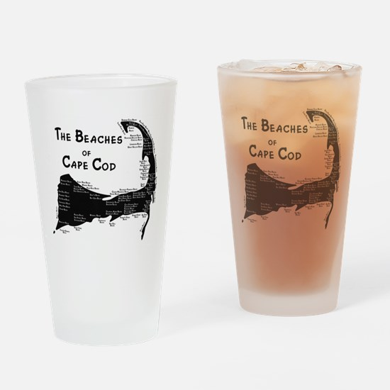 EVERY BEACH ON THE CAPE Drinking Glass
