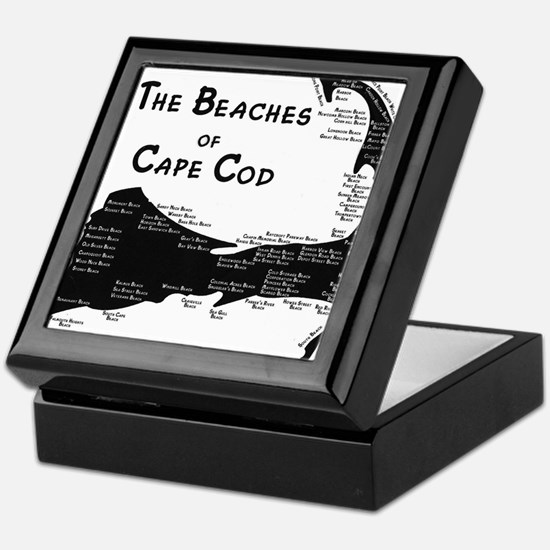 EVERY BEACH ON THE CAPE Keepsake Box