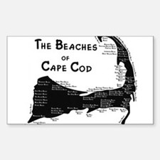 EVERY BEACH ON THE CAPE Decal