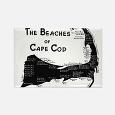 EVERY BEACH ON THE CAPE Rectangle Magnet
