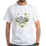 Animal rights Mens White T-shirts