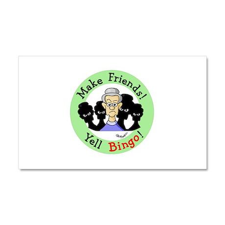 Yell Bingo Car Magnet 20 x 12