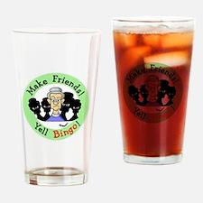 Yell Bingo Drinking Glass