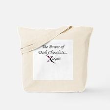"""""""The Power of Dark Chocolate: Xocai"""" Tote Bag"""
