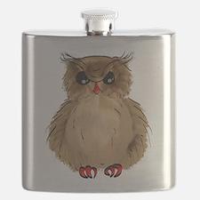 Grumpy Owl Flask