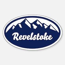 Revelstoke B.C. Sticker (Oval)
