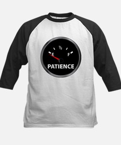 Out of Patience Fuel Gauge Kids Baseball Jersey